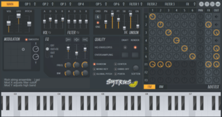 Sytrus Software synthesizer by Image-Line