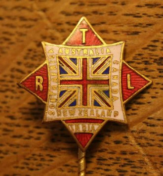 Tariff Reform League - Image: TRL Lapel Pin