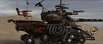 Tank Girl (film) - Image: Tank Girl film tank