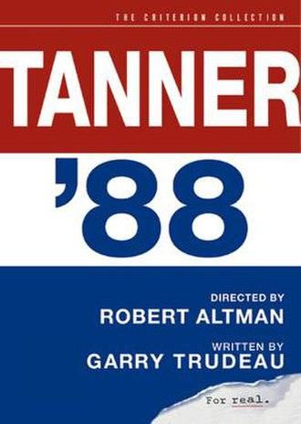 Tanner '88 - Series DVD cover