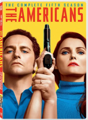 The Americans (season 5) - DVD cover