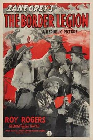 The Border Legion (1940 film) - Theatrical release poster