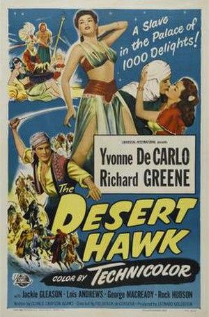 The Desert Hawk (1950 film) - Film poster by Reynold Brown