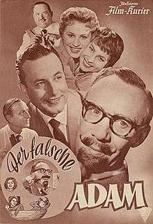 <i>The False Adam</i> 1955 film