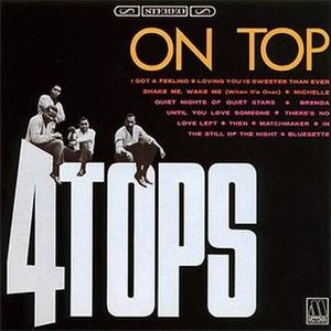On Top (album) - Image: The Four Tops On Top Album Cover