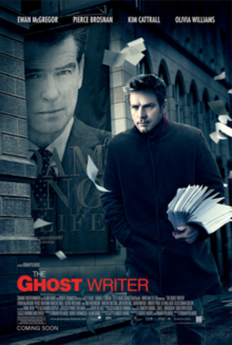 The Ghost Writer (film) - US film poster