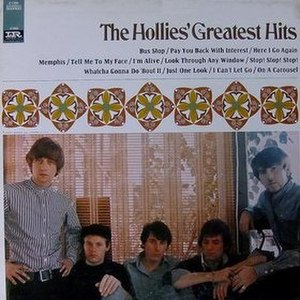 The Hollies' Greatest Hits (1967 album) - Image: The Hollies' Greatest Hits (1967 album)