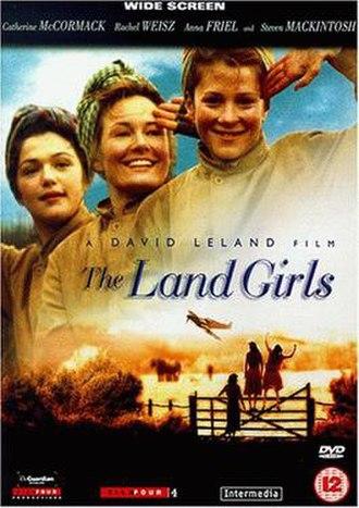 The Land Girls - UK DVD cover
