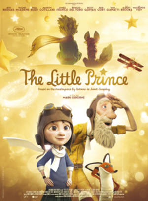 The Little Prince (2015 film) - Netflix release poster