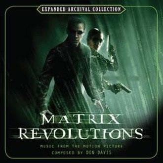 The Matrix Revolutions (score) - Image: The Matrix Revolutions (Score)