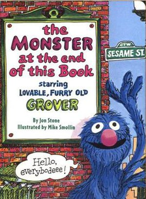 The Monster at the End of This Book: Starring Lovable, Furry Old Grover - Cover image