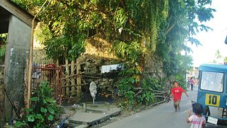 Sogod, Southern Leyte - The old ruins of the Baluarte used to safeguard the village of then Sugut from Moro pirates during the 1700s.