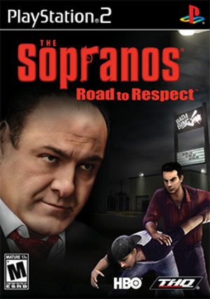 The Sopranos: Road to Respect - North American cover art