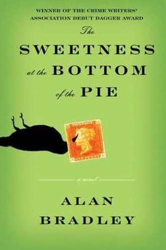 The Sweetness at the Bottom of the Pie - Front cover of US/Canada first edition