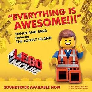 Everything Is Awesome - Image: Thelegomoviesoundtra ck