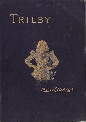 Trilby (novel) - Cover of the first edition of the novel (1895)