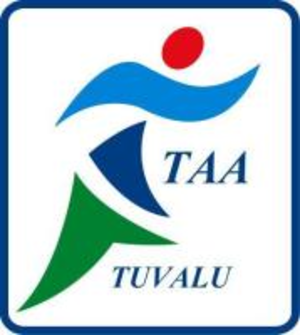 Tuvalu Athletics Association - Image: Tuvalu Athletics Association Logo