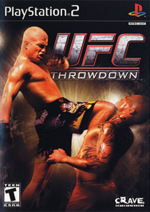 UFC: Throwdown - North American PlayStation 2 cover art