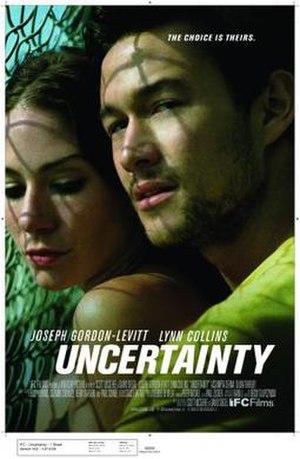 Uncertainty (film) - Image: Uncertainty (film poster)
