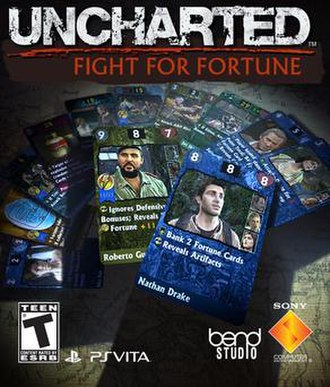 Uncharted: Fight for Fortune - Image: Uncharted FFF cover