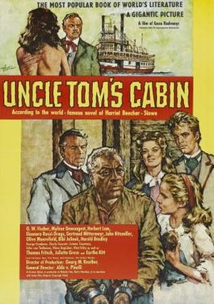 Uncle Tom's Cabin (1965 film) - Film poster