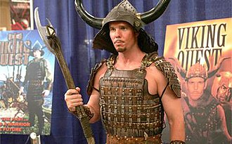 "Viking Quest - Johnny ""Drama"" Chase at San Diego Comic-Con International."
