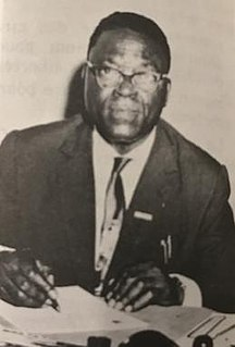 Victor Koumorico Congolese politician