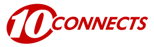 "WTSP - Logo as ""10 Connects"", used from October 9, 2008 to July 26, 2010."