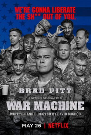 War Machine (film) - Film poster