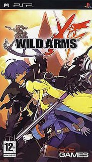 <i>Wild Arms XF</i> video game