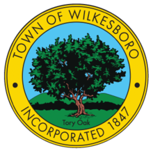 Town Seal for Town of Wilkesboro