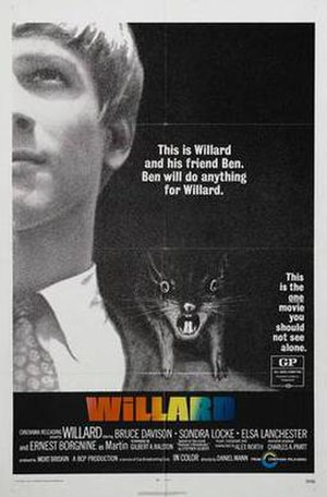 Willard (1971 film) - Theatrical release poster