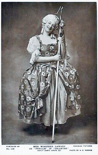 Winifred Lawson English singer and actress