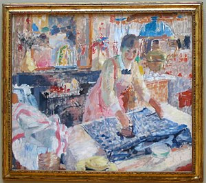 Rik Wouters - Image: Wouters Woman Ironing