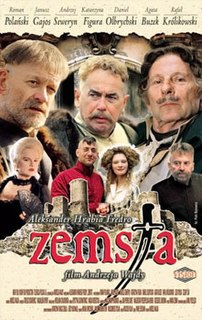 <i>The Revenge</i> (film) 2002 film by Andrzej Wajda
