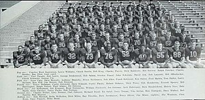 1956 Illinois Fighting Illini football team - Image: 1956 Illinois Fighting Illini football team