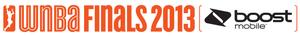 2013 WNBA Finals - Image: 2013 WNBA Finals Logo