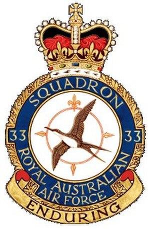 No. 33 Squadron RAAF - Image: 33Sqn RAAF Crest