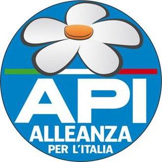 Alliance for Italy - Image: ALLEANZA PER L'ITALIA 3