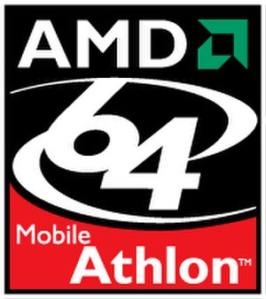 Athlon 64 - Athlon 64 Mobile logo as of 2003