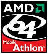 Athlon 64 Mobile logo as of 2003