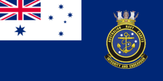 Australian Navy Cadets - Image: A Sea Cadets Flag