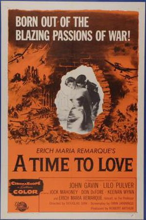 A Time to Love and a Time to Die - Film poster