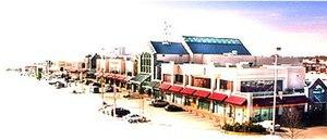 Aberdeen Centre - Image of the original Aberdeen Centre