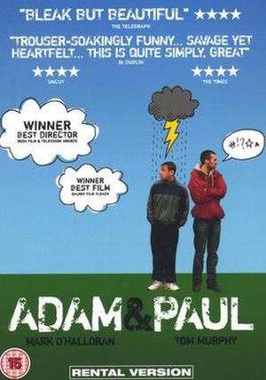 Adam & Paul - DVD cover