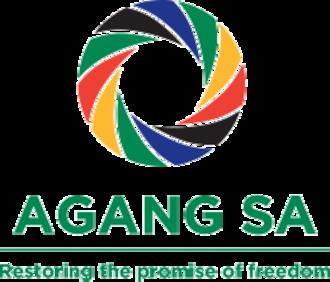 Agang South Africa - Image: Agang Logo Nov 2013