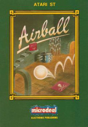 Airball (video game) - Cover Art
