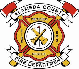 Alameda County Fire Department - Image: Alameda County Fire Department Logo