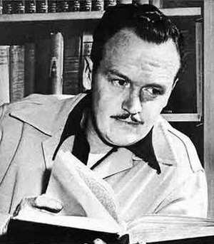 Alex Raymond - Promotional photograph of Alex Raymond from King Features' Famous Artists and Writers, 1949