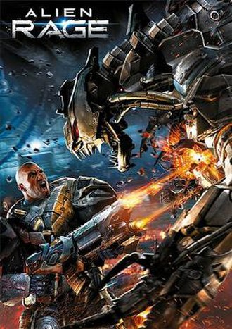 Alien Rage - Image: Alien Rage cover